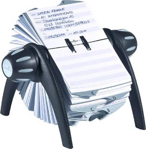 Durable Rollkarteien TELINDEX flip/2416-01 BxHxT 215x120x185mm schwarz
