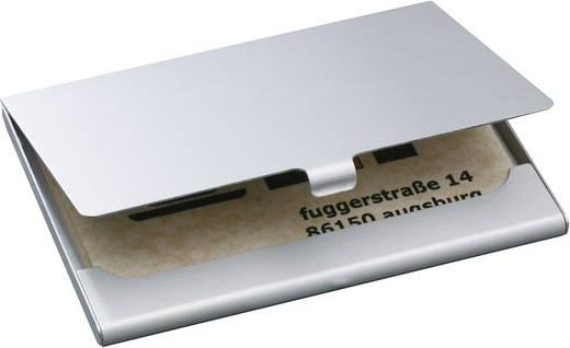 Sigel VZ135 Visitenkartenetui 91x58 mm Alu silber, für 15 Karten