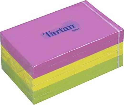 Tartan™ Haftnotizen/12776N 127x76 mm neon Inh.6