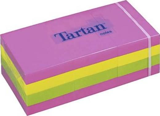 Tartan™ Haftnotizen/5138N 38x51 mm neon Inh.12