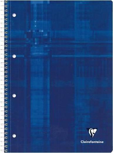 Clairefontaine Collegblock/8258C DIN A4 blau kariert 90 g/qm