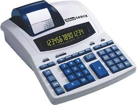 IBICO Druckender Tischrechner Professionell 1491 X/IB404207 14-stellig