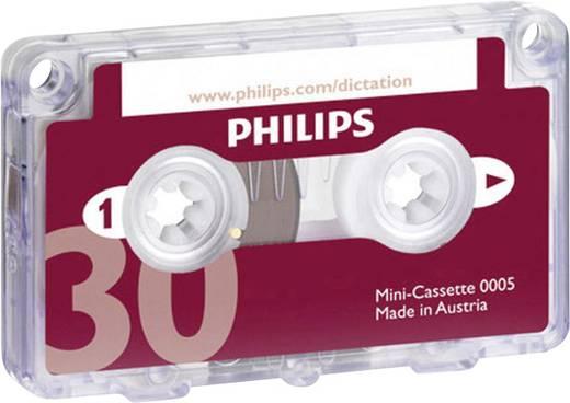 Philips Minikassette LFH005 Aufzeichnungsdauer (max.) 30 min 1 St.
