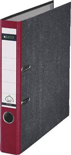 Leitz Ordner 1050 DIN A4 Rückenbreite: 52 mm Rot Wolkenmarmor 2 Bügel 10505025