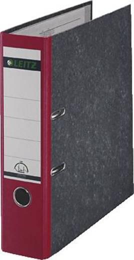 Leitz Ordner 1080 DIN A4 Rückenbreite: 80 mm Rot Wolkenmarmor 2 Bügel 10805025