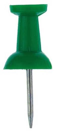 Alco Pin-Wand-Nadeln 66018 grün Inh.20