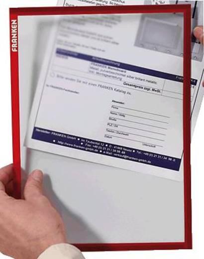 FRANKEN Dokumentenhalter DIN A4 ITSA4M01 rot