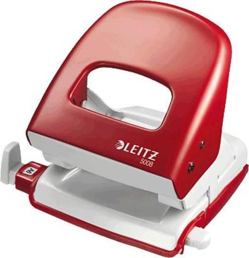 Leitz 5008-00-25 Bürolocher Rot (B x H x T) 107 x 100 x 137 mm