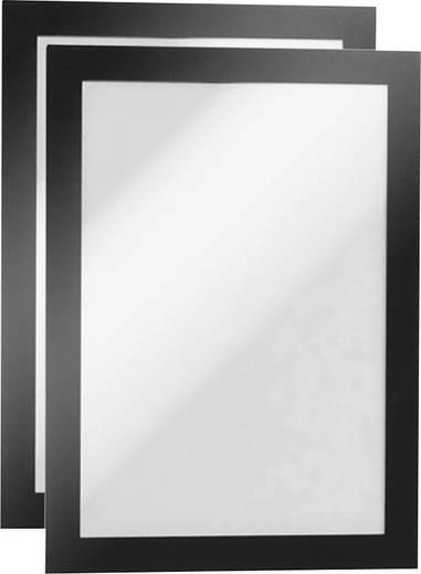 Durable Duraframe A5 Informationsrahmen A5, 2er Schwarz 4871-01