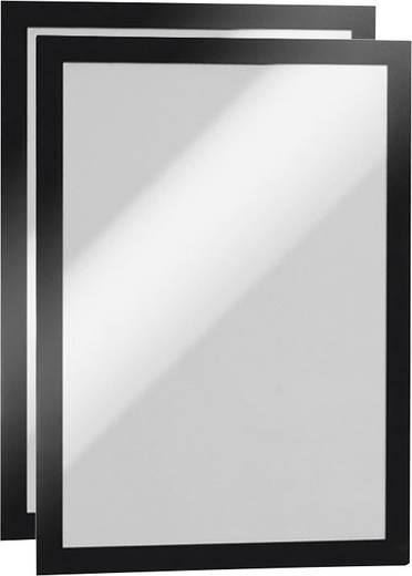 Durable Duraframe A4 Informationsrahmen A4, 2er Schwarz 4872-01