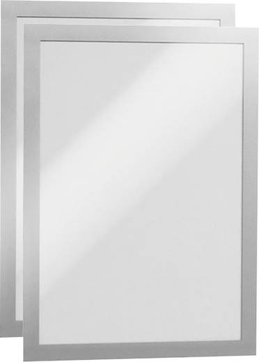 Durable 4872-23 Magnetrahmen Silber (B x H) 236 mm x 322 mm