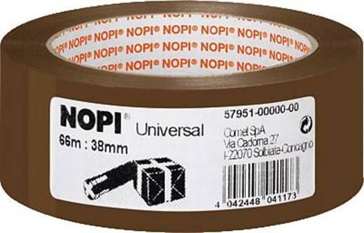 Packband Nopi® Braun (L x B) 66 m x 38 mm Nopi 57951 1 Rolle(n)