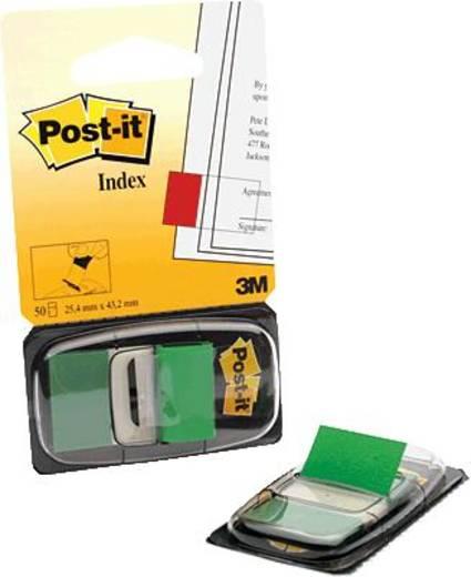 Post-it Haftstreifenspender Index 680-3 Farbe des Haftstreifens: Grün 7000029856