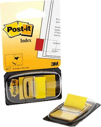 post it index 680 5 25 4x43 2 mm gelb kaufen. Black Bedroom Furniture Sets. Home Design Ideas