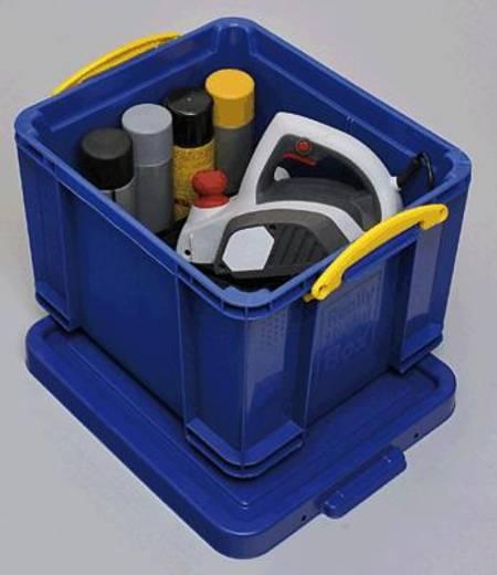Really Usefull Box Aufbewahrungsbox/35B blau mit Deckel Inh.35 Liter