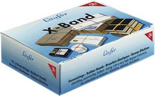 Läufer Gummibänder Rondella X-Band im Karton (Ø x L) 100 mm x 150 mm 515198 Rot, Gelb, Lila, Grün 40 St.
