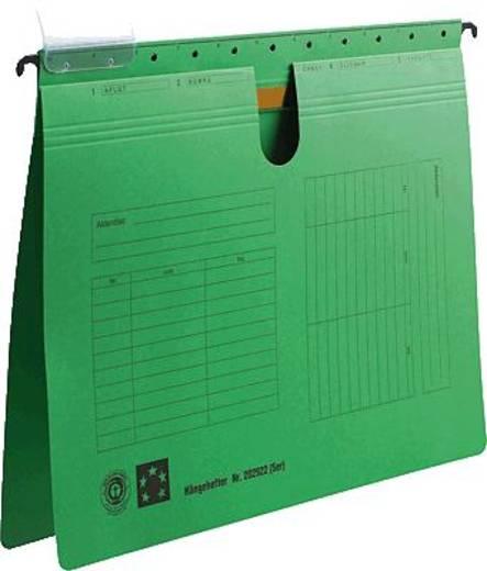 5 Star Hängehefter grün für DIN A4 Natronkarton (RC) 230g/qm Inh.5