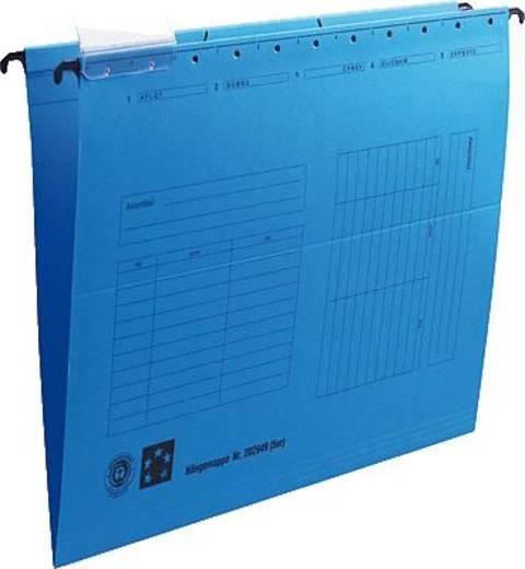 5 Star Hängemappen blau für DIN A4 Natronkarton (RC) 230g/qm Inh.5
