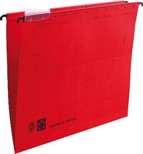 5 Star Hängemappen rot für DIN A4 Natronkarton (RC) 230g/qm Inh.5