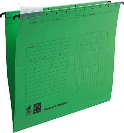 5 Star Hängemappen grün für DIN A4 Natronkarton (RC) 230g/qm Inh.5