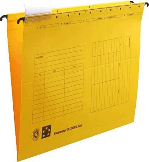 5 Star Hängemappen gelb für DIN A4 Natronkarton (RC) 230g/qm Inh.5