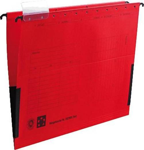 5 Star Hängetaschen rot für DIN A4 Natronkarton (RC) 230 g/qm Inh.5