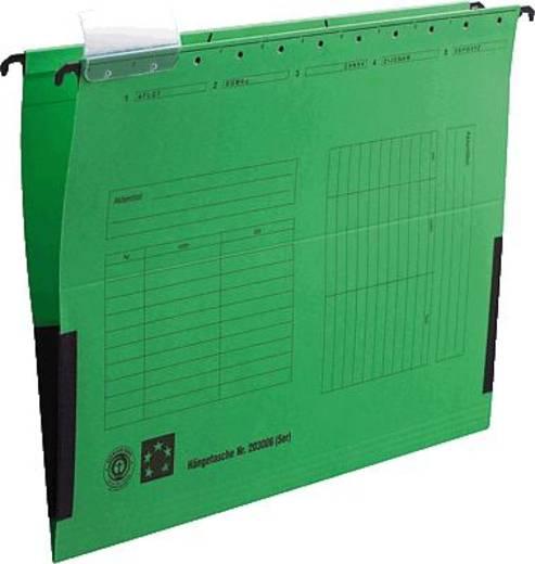 5 Star Hängetaschen farbig grün für DIN A4 Natronkarton (RC) 230g/qm Inh.5