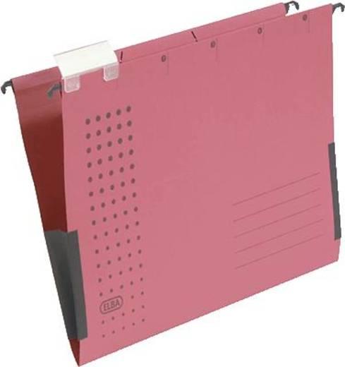 Elba Hängetaschen chic, VE5/85803RO A4 rot Karton (RC) 230 g/m² Inh.5