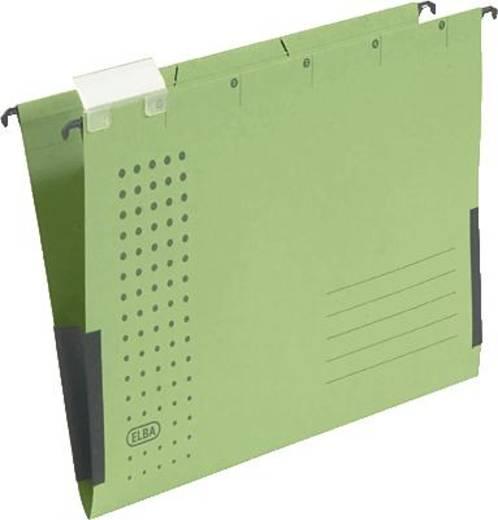 Elba Hängetaschen chic, VE5/85803GN A4 grün Karton (RC) 230 g/m² Inh.5