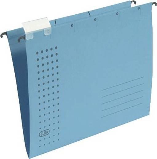 Elba Hängemappen chic/85801BL A4 blau Karton (RC) 230 g/m² Inh.5