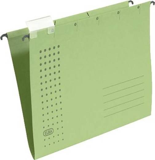Elba Hängemappen chic/85801GN A4 grün Karton (RC) 230 g/m² Inh.5