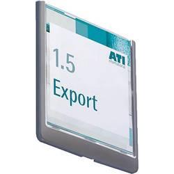 Image of Durable Türschild CLICK SIGN - 4862 (B x H) 149 mm x 148.5 mm Graphit 486237