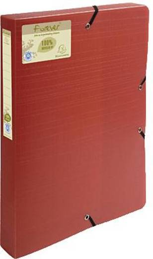 Exacompta Archivbox forever Recycled PP/553575E 330x250x40mm rot/orange