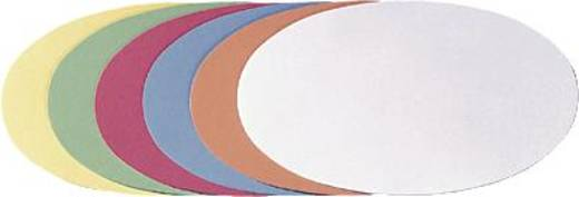 FRANKEN Moderationskarten Ovale/UMZ 1119 19 11x19cm hellgrün Inh.500