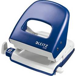 Image of Leitz 50080035 Bürolocher New NeXXt Blau max. Einstellformat: DIN A4 30 Bl. (80 g/m²)