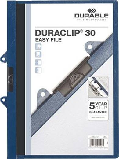 Durable Klemmmappen Duraclip 30 Easy File/2229-07 dunkelblau