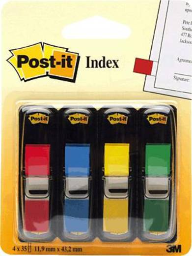 post it haftmarker 7000144923 4 block pack rot gelb gr n blau kaufen. Black Bedroom Furniture Sets. Home Design Ideas