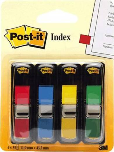 post it index mini 683 4 12 7x43 7 mm rot blau gr n gelb inh 4 kaufen. Black Bedroom Furniture Sets. Home Design Ideas