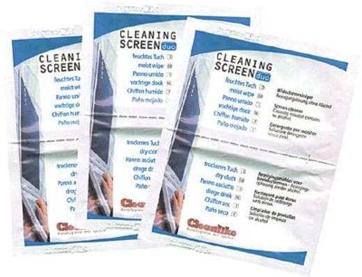 Cleanlike Flachbildschirmreinigungstücher/299311010 Inh.10 Duotücher/PE-Beutel