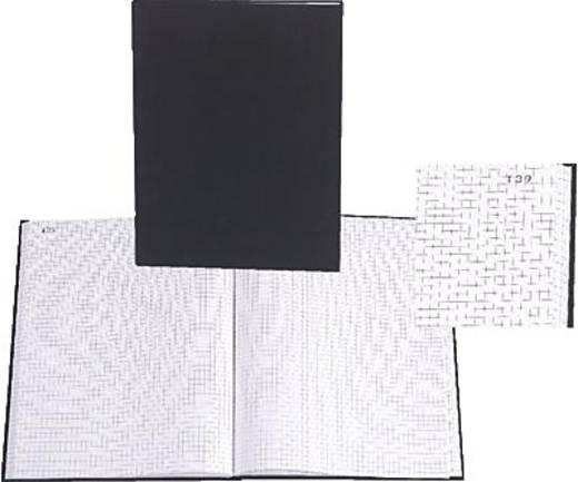 EXACOMPTA Geschäftsbuch/412E DIN A4 kariert 110 g/qm Inh.100 Blatt