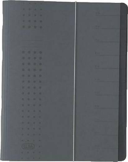 Elba Ordnungsmappe chic/42496AZ für DIN A4 anthrazit Karton (RC) 450 g/m²
