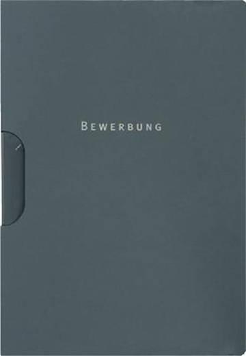 Elba Bewerbungsmappe /36411AZ 310x224x5mm anthrazit Karton (RC) 320g/qm