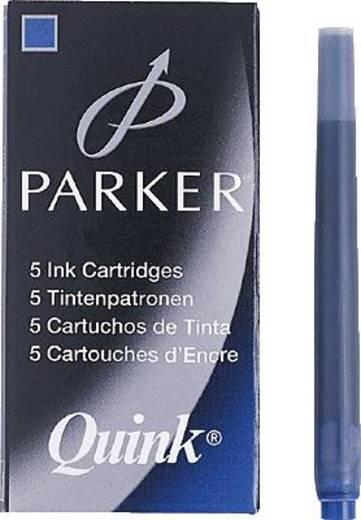 PARKER Tintenpatronen Quink Z44/S0116210 königsblau Inh.5