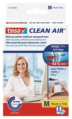 Image of Laserdrucker Filter Feinstaub tesa Clean Air M Selbstklebend 1 St.
