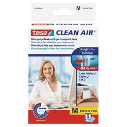 Image of tesa Clean Air M Laserdrucker Filter Feinstaub Selbstklebend 1 St.