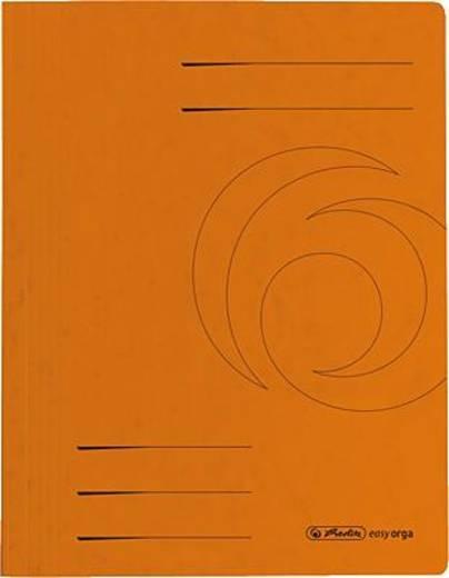 Herlitz Schnellhefter Colorspan/10902922 DIN A4 orange 355 g/qm