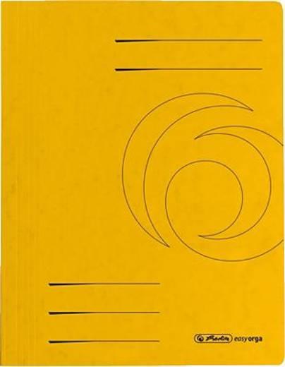 Herlitz Schnellhefter Colorspan/10902914 DIN A4 gelb 355 g/qm