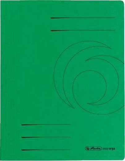Herlitz Schnellhefter Colorspan/10902906 DIN A4 grün 355 g/qm