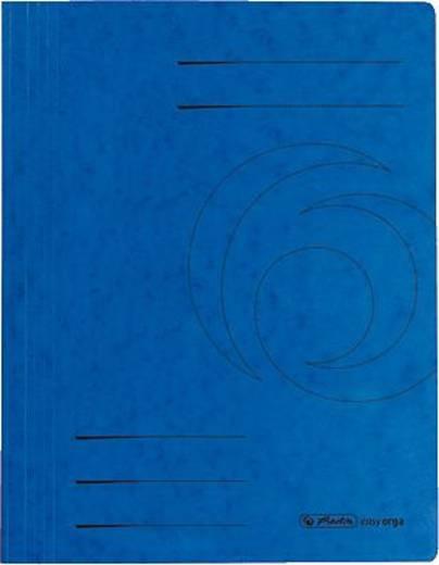 Herlitz Schnellhefter Colorspan/10902880 DIN A4 blau 355 g/qm