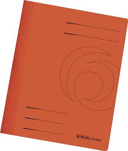 Herlitz Schnellhefter/10902518 orange 240 g/qm